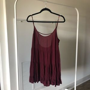 Brand Melville maroon summer dress